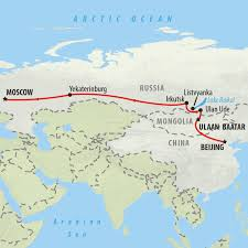 Beijing On World Map by Trans Siberian Railway Tours And Adventures On The Go Tours