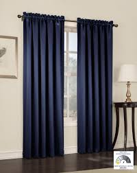 Thick Black Curtains Sun Zero Barrow Energy Efficient Rod Pocket Curtain