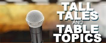 Table Topics Toastmasters Table Topics U2013 Morningstars Toastmasters Club