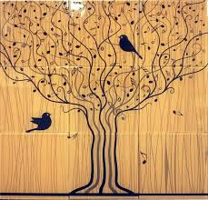 musical tree glass tile mural 18 x 18 giveaway architectural