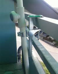 sonnenschirmhalter balkon sonnenschirm mit halterung für balkon enorm sonnenschirmhalter