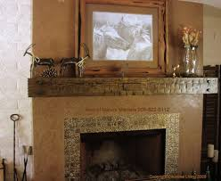fireplace mantels rustic cool shabby wood mantel made of