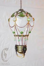 light bulb air balloon designs by steve and susie интересные
