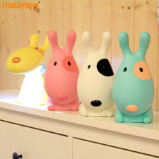 best quality lovely cartoon light 3d dog kids led night light usb