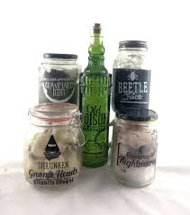 halloween potion jars with vinyl pazzles craft room
