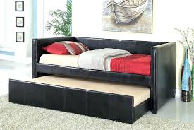 black leather daybed u2013 equallegal co