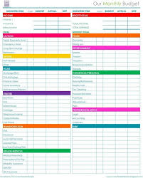Monthly Bill Spreadsheet Template Monthly Bill Organizer Template Excel Spreadsheets