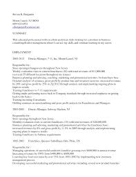 District Manager Resume Sample Resume For Subway Manager Resignation Letter Sample