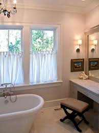 curtains for bathroom windows ideas the 25 best half window curtains ideas on kitchen