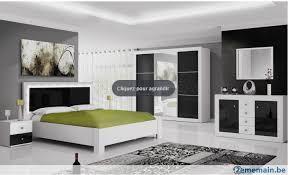 chambre blanche et chambre complète design blanche et noir a vendre 2ememain be