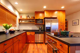 how to stain kitchen cabinets diy true value projects
