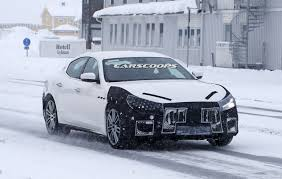 ghibli maserati facelifted 2018 maserati ghibli is on its way