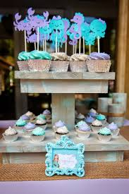mermaid baby shower decorations mermaid baby shower ideas image credit the frosted