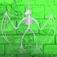 Halloween Skeleton Prop by Dinosaur Bat Skeleton Halloween Horror Prop Decoration