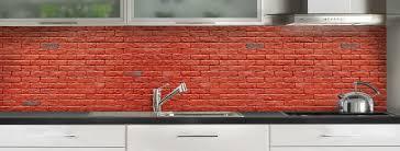 briques cuisine crédence de cuisine loft briques c macredence com
