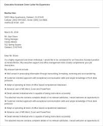 executive assistant cover letter 28 images leading