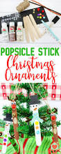 popsicle stick christmas ornaments kid u0027s diy popsicle stick