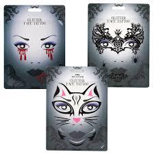 halloween temporary face tattoo sticker transfer eye makeup