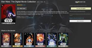 the best place to buy the star wars digital hd collection