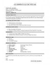 Resume Format Pdf For Tcs by Cv Resume India With Best Resume Format Pdf In India Civil