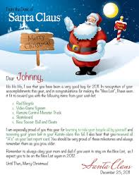 santa claus letters personalized letter from santa search on a shelf