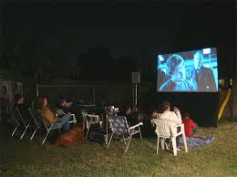 projector for backyard movie night outdoor furniture design and