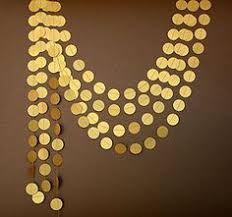 New Year Decorations Amazon by This Gold Star Garland Would Be An Attractive Decoration For A