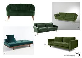 canap de repos du vert pour mon canapé