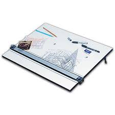 Staedtler Drafting Table Staedtler Parallel Edge Drawing Board 18 X 24 White By