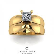 wedding ring sets south africa 0 50cts yellow gold diamond wedding set grand diamonds south africa