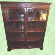 Mahogany Bookcases Uk Maple U0026 Co Mahogany Breakfront Bookcase Hingstons Antiques Dealers
