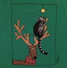 vintage b kliban cat card guitar cat 1977 w envelope kilban