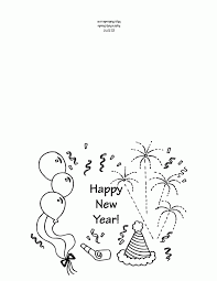 printable new year u0027s greeting card template my fun job