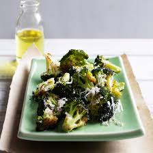 fast thanksgiving side dishes broccoli parmesan and lemon