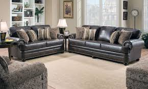 Living Room Furniture For Less Charlton Sofa With Nail Head Trim The Dump America U0027s Furniture