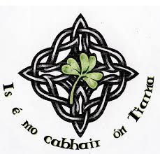 celtic knot nice shamrock tattoo design idea golfian com