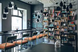 botan library in kiev entices nerds with creative interiors
