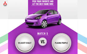 vote on 2014 mitsubishi mirage colors with fun new site