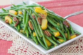 pineapple pecan glazed green beans cupcakes kale chips