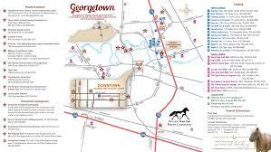 Lexington Ky Map Map Georgetown Scott County Tourism