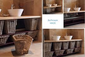 Bathroom Wicker Furniture Wicker Basket Bathroom Furniture Ikea Hackers