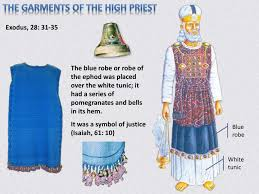 high priest ephod ppt the priestly garments of grace powerpoint presentation id
