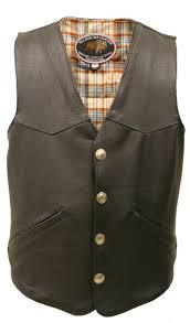 leather apparel men u0027s western style american bison leather vest