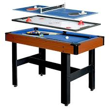 hathaway matrix 54 7 in 1 multi game table reviews hathaway triad 48 inch 3 in 1 multi game table target