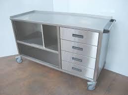 armoire inox cuisine professionnelle meuble cuisine exterieur meuble extrieur en palette sur roulettes