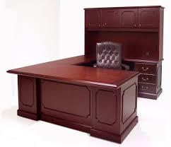 Veneer Desk Genuine Cherry Veneer Office Furniture Free Shipping