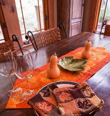 metallic home decor autumn table runner autumn decor fall decor fall table runner