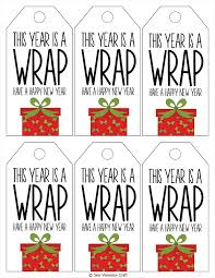 new year wrapping paper christmas wrapping paper gift idea with printable tags see