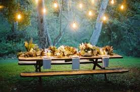 inspiring outdoor party lighting ideas for setting the mood