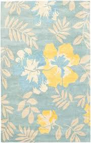 teal and yellow area rug fraufleur com